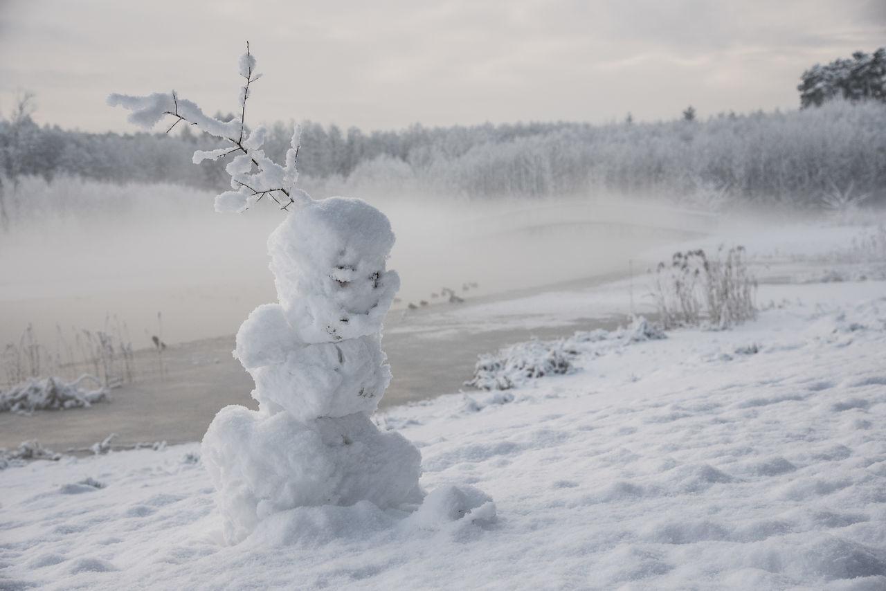 Beautiful stock photos of schneemann, winter, snow, cold temperature, human representation