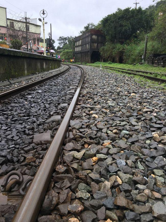 Long Rail Transportation Railroad Track Railway Track Stone - Object The Way Forward