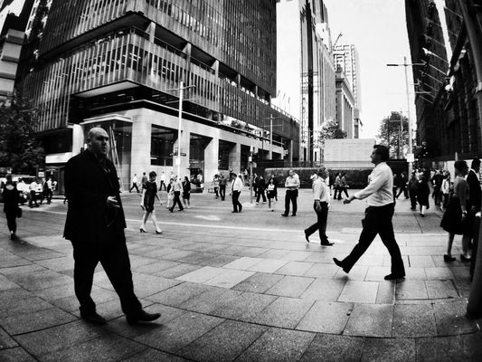 streetphotography at Martin Place by Francis