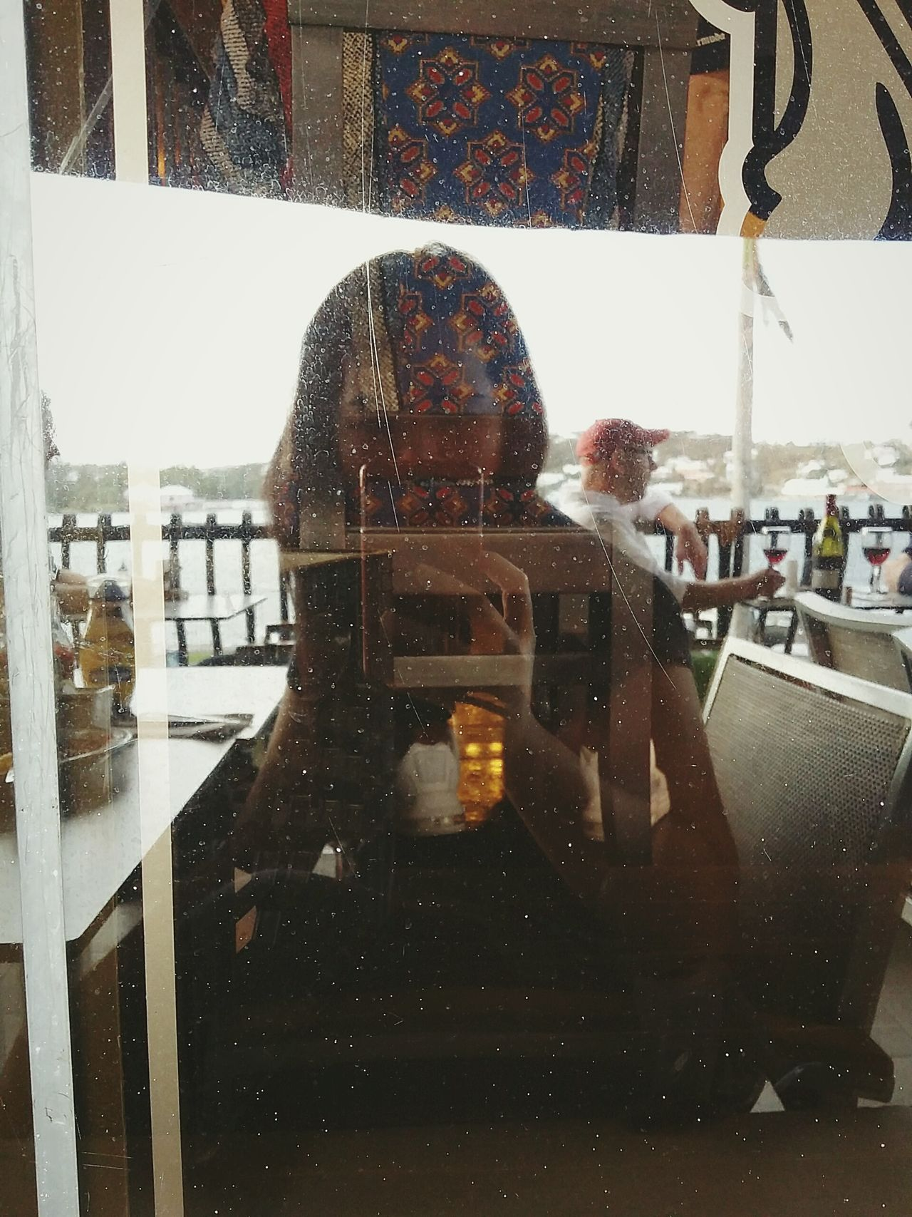 Reflection Window Indoors  People One Person EyeEm Streetphotography EyeEm Best Shots Travel Destinations Leisure Activity Sea Beauty In Nature Cloud - Sky Travel Adventure Street Road Reflection Window Indoors  People Responsibility One Person Day Adult