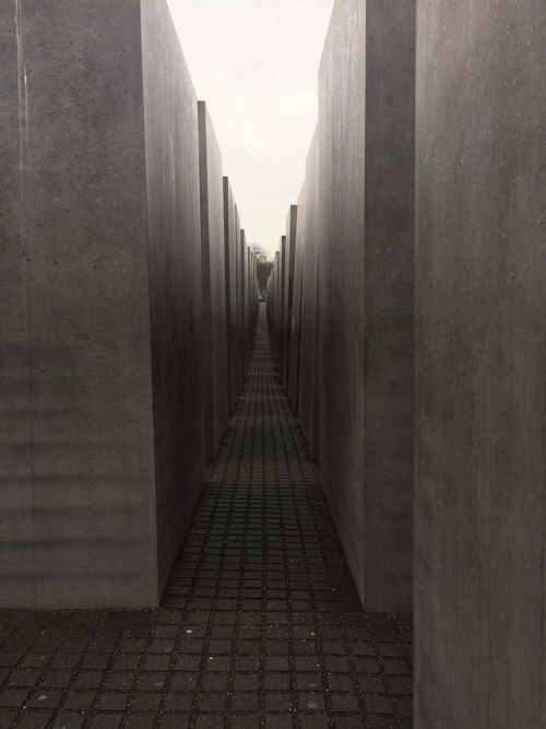 The Way Forward Built Structure Architecture No People Day Memorial Of The Murdered Jews Of Europe The Monument Building Story In A Row Walkway Travel Destinations