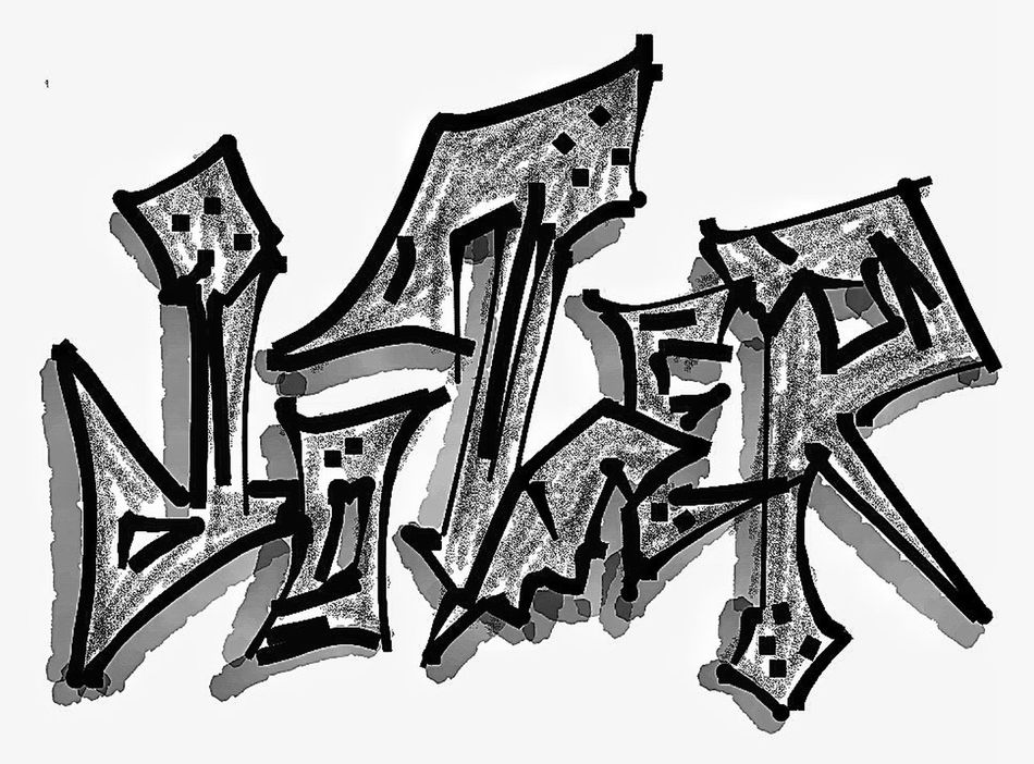 Drawing Sketching Myartwork Name letters defines more than we think.....