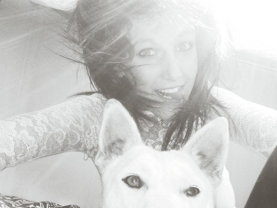 Cute Pets Enjoying Life Me And My Pup
