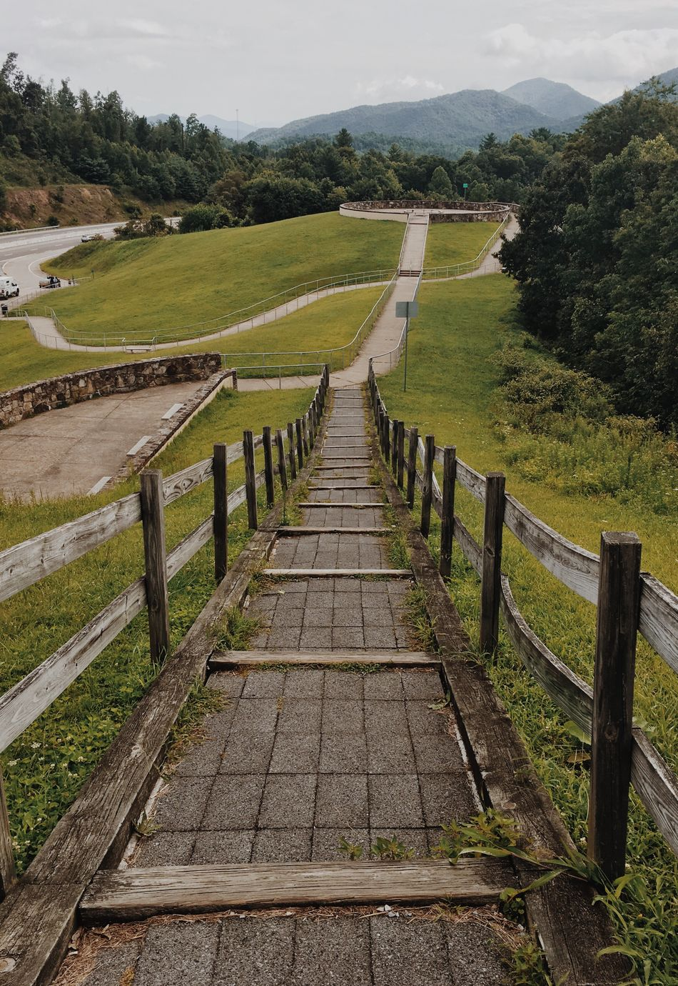 The Way Forward Landscape Tranquil Scene Tranquility Grass Field Narrow Scenics Diminishing Perspective Park - Man Made Space Long Nature Outdoors Day Boardwalk Beauty In Nature Walkway Growth Solitude Green Color