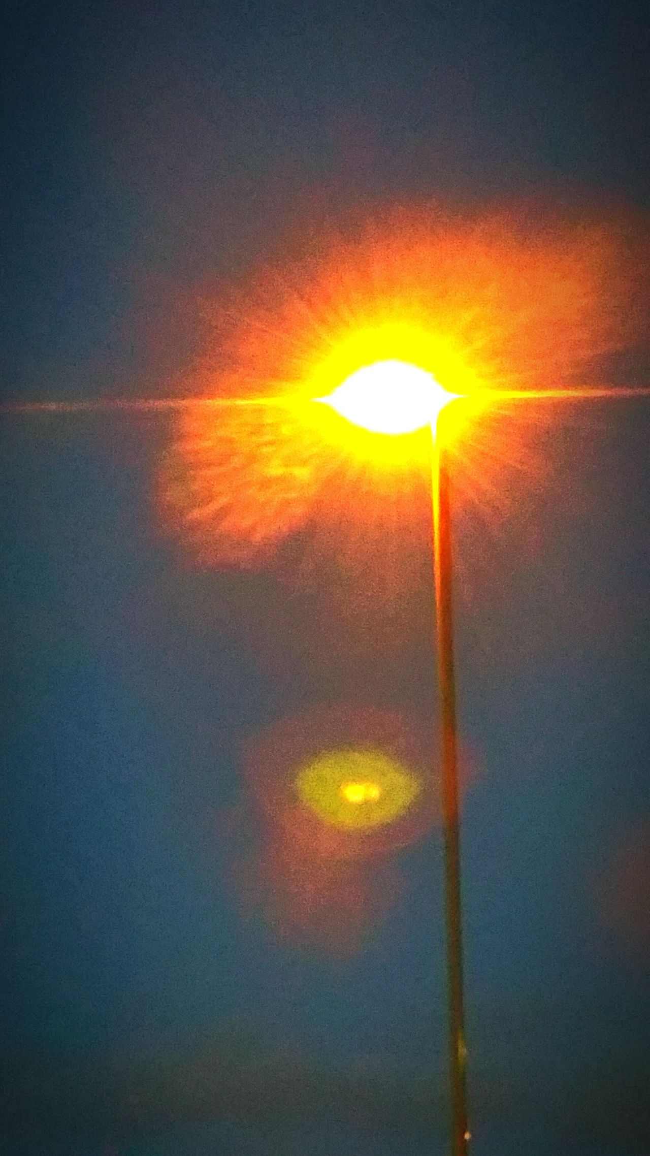 Streetlight Blaze Of Colour