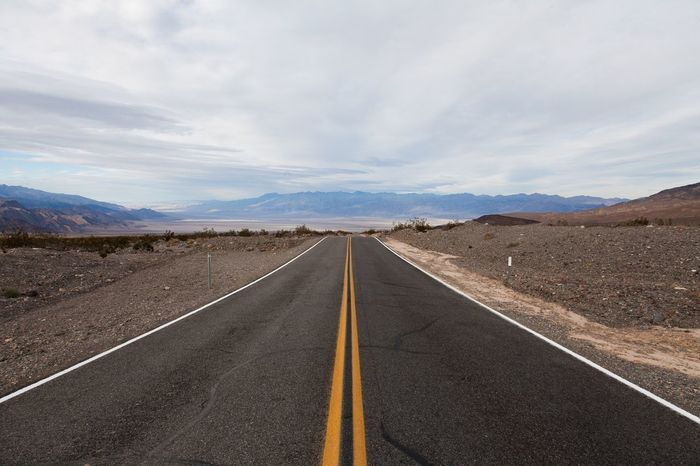 The Open Road, Death Valley Death Valley Nevada Desert California Road Road Trip Highway USA America Travel Driving Open Road Death Valley On The Road Travel Photography Landscape Roadtrip Vanishing Point Diminishing Perspective