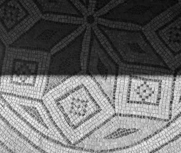 Mosaic art Pattern Day