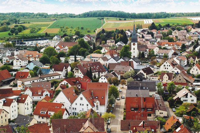In the air... Above The City Shot From Above  Landscape Cityscapes Cityscape Germany🇩🇪 German Village Outdoor My Favorite Photo Found On The Roll Enjoying Life Travel The Great Outdoors - 2016 EyeEm Awards Travel Photography Vscocam Village View Village Photography Dorf Deutschland Architecture Architecture Photography Architecture_collection Fine Art Photography Hidden Gems  What's On The Roll