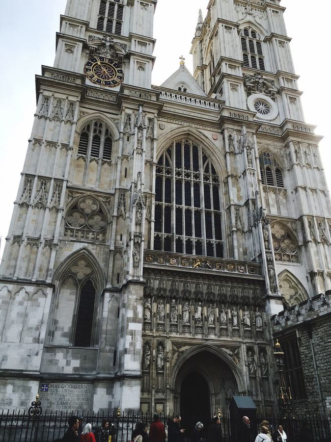 Westminster Abbey Tourist Lookingaround Check This Out