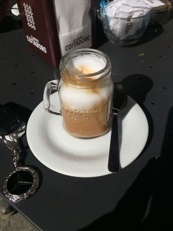 Cappuccino Close-up Coffe Coffee - Drink Day Drink Food Food And Drink Freshness Frothy Drink Indoors  Marocchino No People Ready-to-eat Refreshment Sweet Food Table