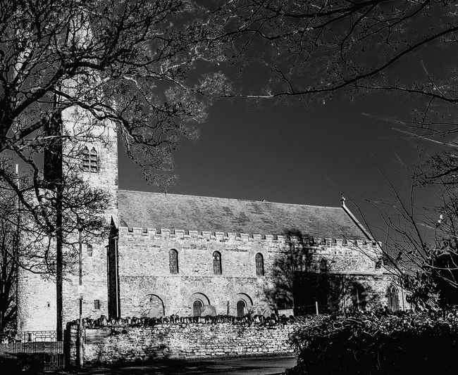 All Saint's Church, Brixworth, Northamptonshire Black And White Chuches Architecture Northamptonshire