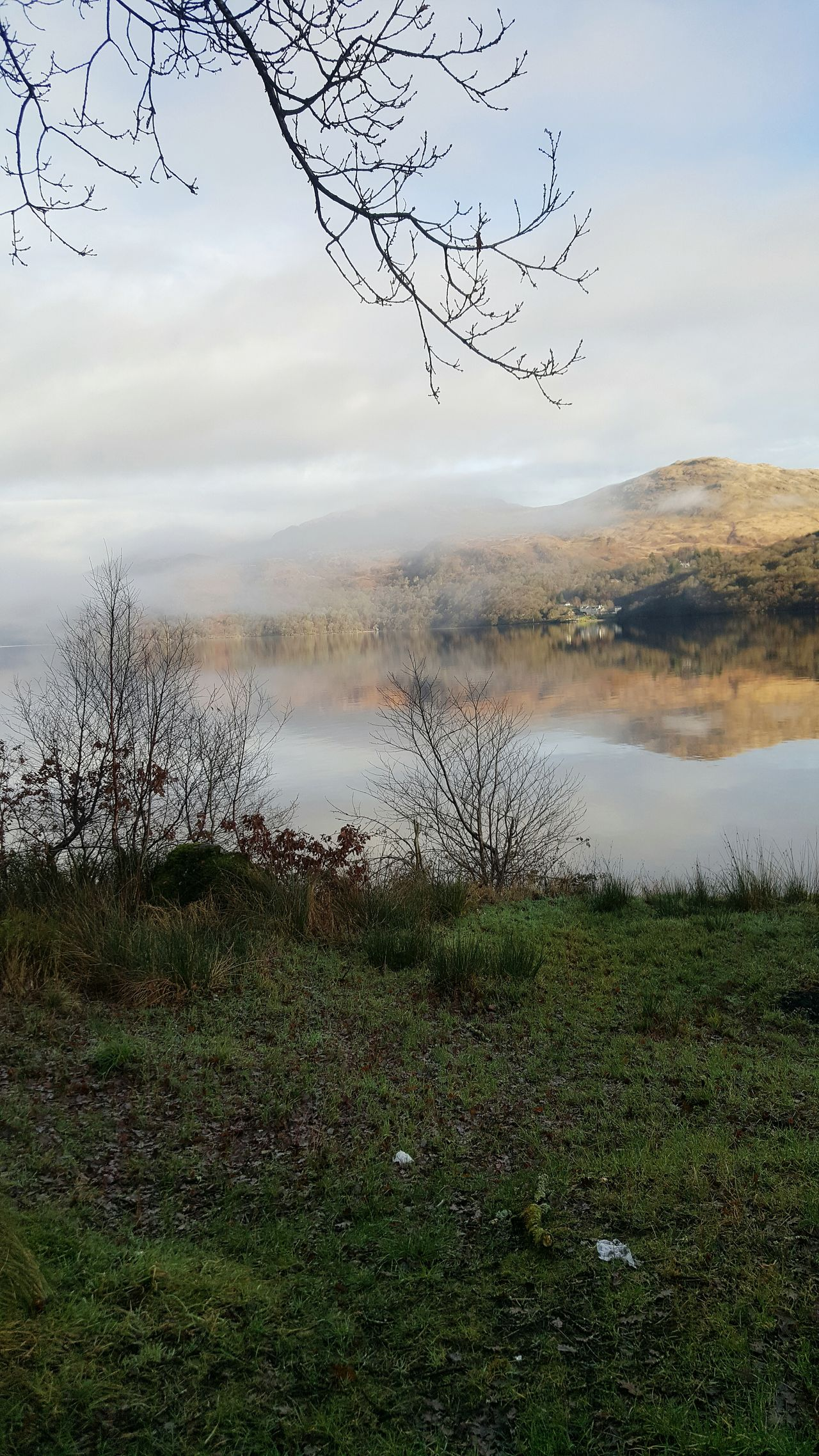 Loch lomond Beauty In Nature Cloud - Sky Outdoors Scenics Day Landscape Mountain Lake Tranquility LochLomond Reflection Water Nature