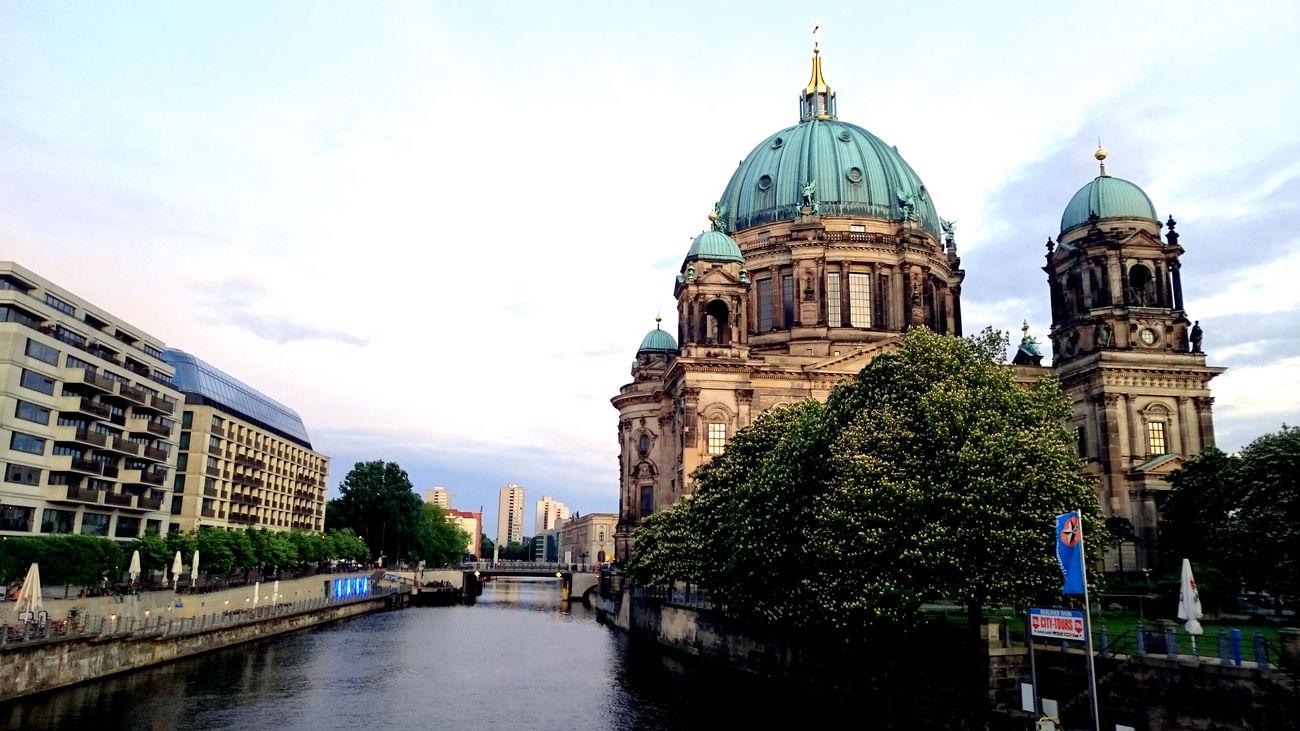 Golden Ratio in Berlin Berlin Berliner Dom Cloud - Sky Golden Ratio No People Religion Spree Travel Destinations
