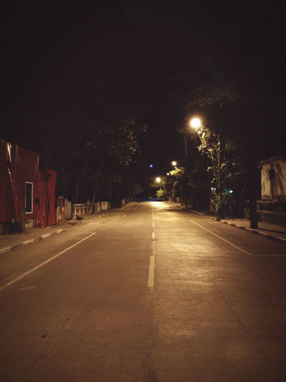 4am warmth... Virgin streets. Pune India