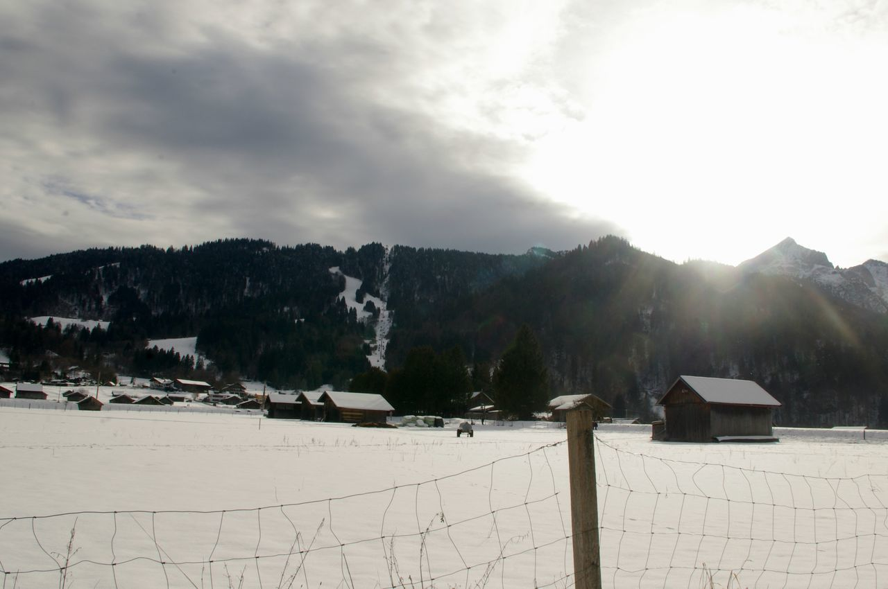 Cloud Cloudy Cold Cold Temperature Landscape Majestic Mountain Mountain Range Outdoors Scenics Sky Snow The Week On EyeEm Tranquil Scene Tranquility Weather Winter TheWeekOnEyeEM Snow Covered Season  Beauty In Nature Sunset Sun House Forest Worthit