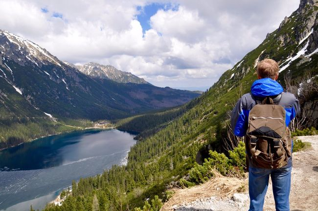 Original Experiences Feel The Journey unforgettable trip to the mountains lake - Morskie oko. Breathtaking top views. The lake surrounded by Polish Tatry. Tatry Tatry Poland Morskieoko Trip Traveling Vacation Hiking Lake Lake View Top View Landscape Nature Tranquility Enjoying Life Hello World