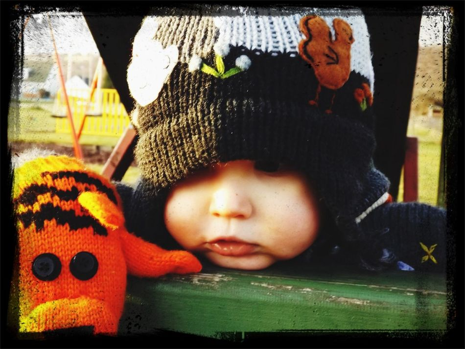 My son at the park