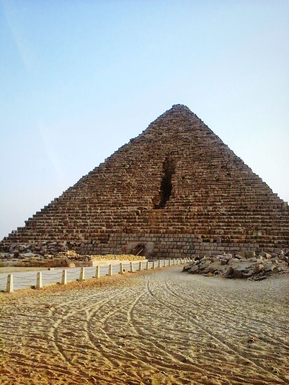 Hello World from Egypt Piramide ❤❤❤❤ one of the best building by the humanity First Eyeem Photo