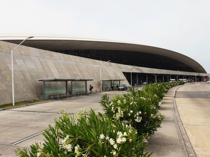 Uruguay Southamerica Airport Rafael Vinoly Montevideo Built Structure Architecture Outdoors No People Day Building Exterior