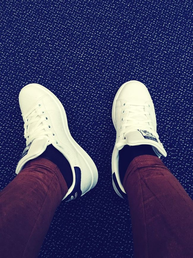TOTALLY CRAZY in LOVE with my comfy Stan Smith ☀️😍😍 Stansmith Addidas <3 WhiteCollection Whiteshoes 💕🙌🏻👟👟👟