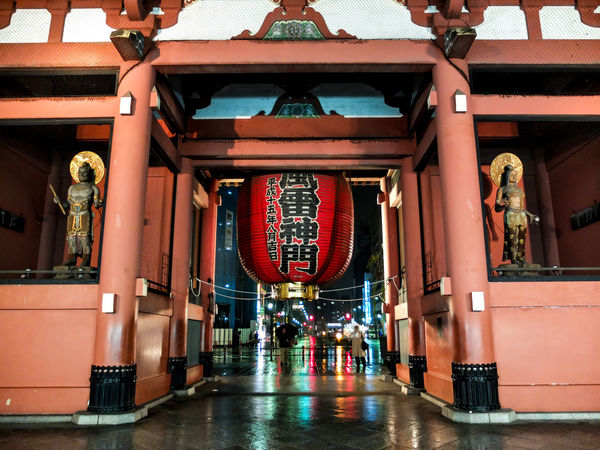 Architectural Column Architecture Asakusa Asian Culture Attractions Built Structure Cultures Day Entrance Indoors  Japan Faith Japan Religion Leimen No People No People, Place Of Worship Religion Religions Travel Travel Destinations
