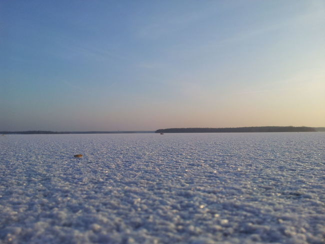 Frozen Beach Ice See Winter Zugefroren