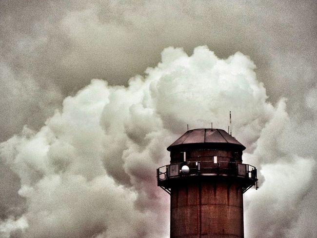 Smoke Stack Rusty Rustic Charm Cloudscape Cloud Manufacturing Cloudporn Cloud Maker Cloud Machine
