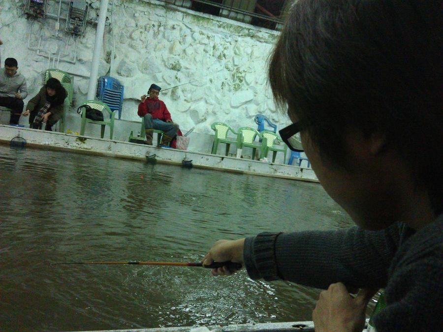 Shrimp fishing Photo taken with HTC Sensation Htc Sensation Shrimp Fishing