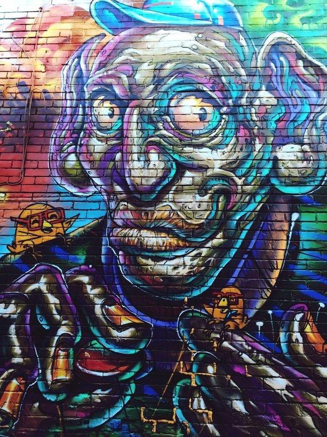 Grafitti Art Design Urban