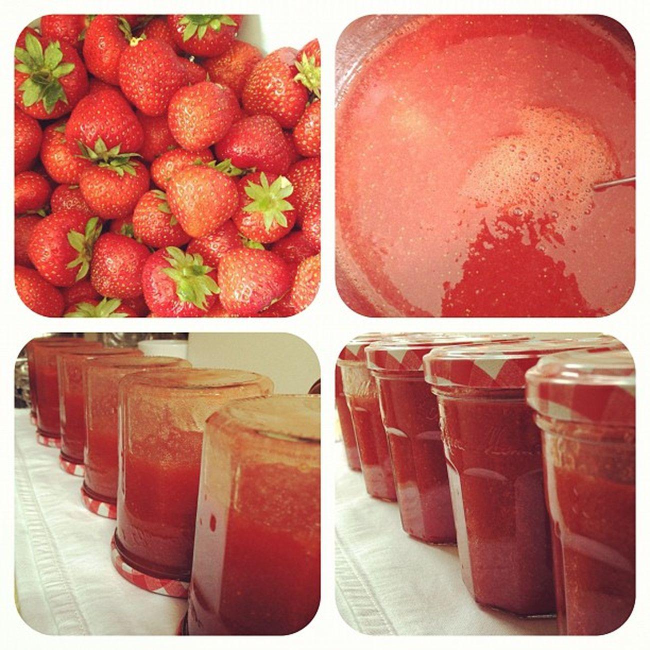 Fertig ist meine #Bombay #Erdbeer #Marmelade :-) Bombay Marmelade Erdbeer Erdbeermarmelade
