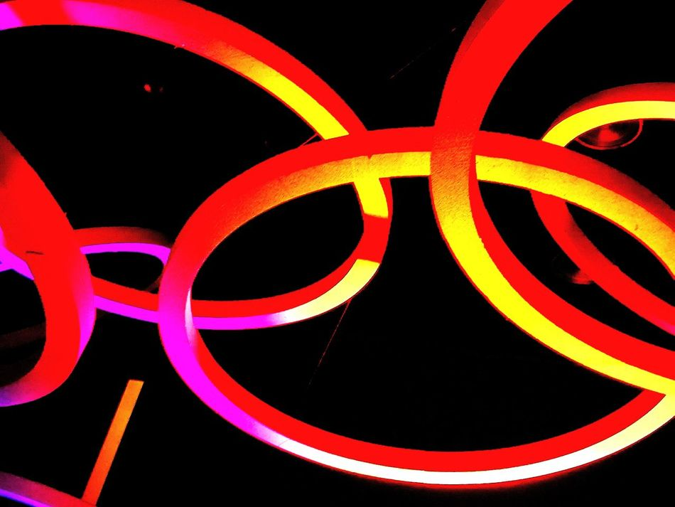 Red Night Neon Close-up Discotek Lights Colors Night Abstra Abstract Photography Abstractions In Colors EyeEmNewHere Minimalist Architecture