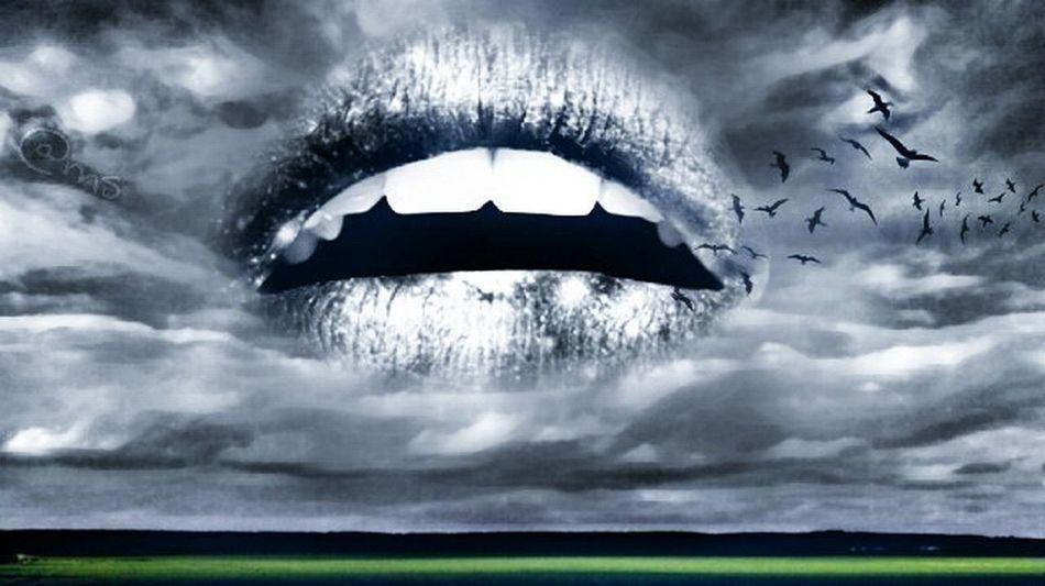 Speaktruth Justsaying Surreal Sky Blackandwhite Edit Myinspiration Nature