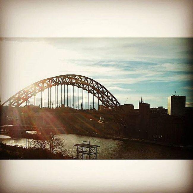 View from Thesagegateshead Tynebridge  Northeastcaptures Newcastle NORTHEASTENGLAND Newcastlelandmarks