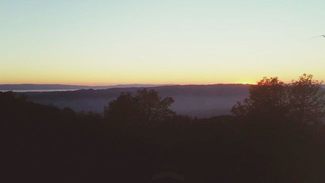 Winter Sunset Mt Diablo Hikingadventures Rock City Dayandnight Outdoors Beauty In Nature Mountains State Park