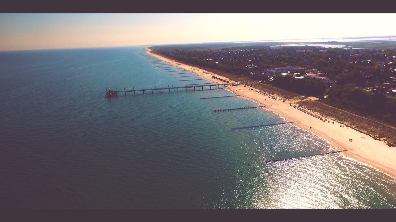 The Great Outdoors - 2017 EyeEm Awards EyeEm Best Shots Dronephotography Drone  Dji Phantom Horizon Over Water Nature Water Sea Aerial View