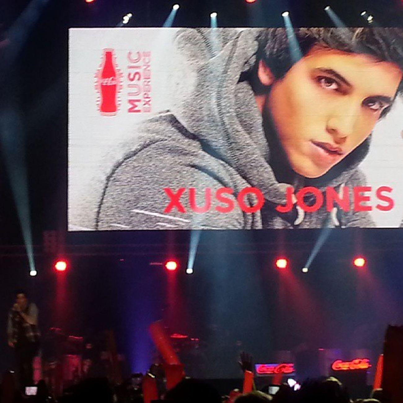Akii @xusojones en CocaColaMusicExperience lo as echo genial! !