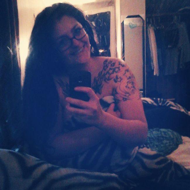 Zebra Selfie Dirtymirrorpics Tattooedhottie tattooed