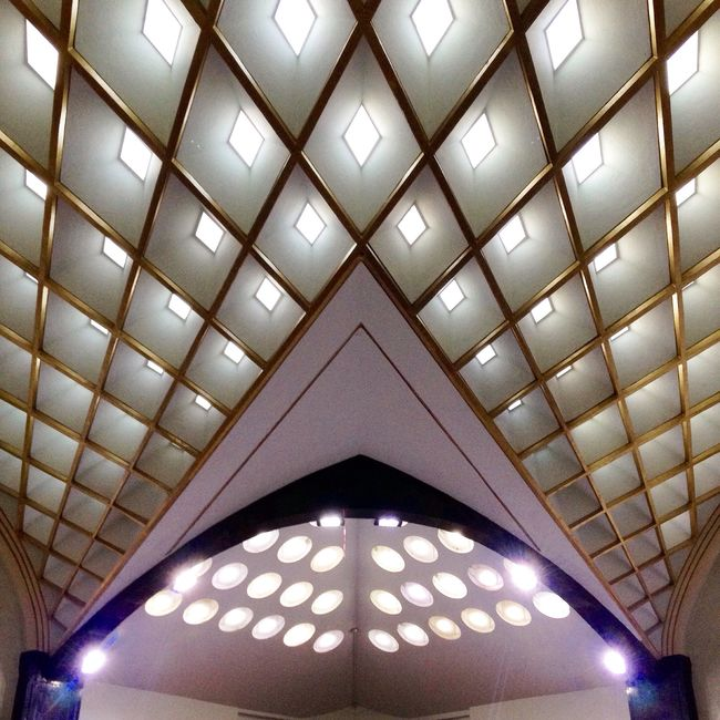 Precision Architecture Ordered Light Harmonious Interior The Architect - 2015 EyeEm Awards Auditorium of the Lotería Nacional (National Lottery) building, in Mexico City
