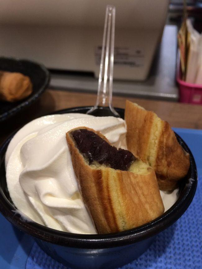 三重 伊賀上野 ソフトクリーム