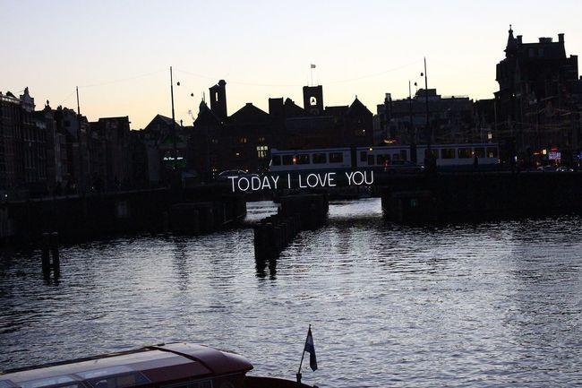 Canal Amsterdam Netherlands Love Cute Scenics Scenario Landcape Inlove