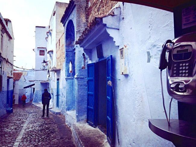 Travel Travel Destinations Built Structure Architecture Old Town Old Architecture Streetphotography Hanging Out Walking Around Enjoying Life Enjoying The View From My Point Of View Capture The Moment Enjoying The Moment Blue Traveling City Life TOWNSCAPE EyeEm Best Shots EyeEmBestPics in Chefchaouen , Morocco