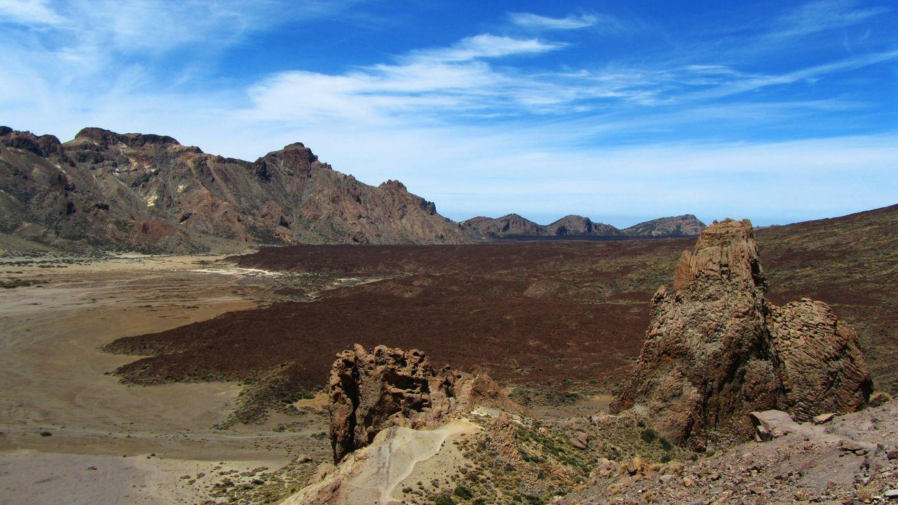 Las Cañadas Caldera @ Parque Nacional Del Teide, Tenerife. Landscape Nature Rocks Volcanic  Surreal