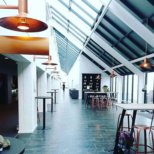 A long walk to the foyer ... Copper Lamps A Long Walk