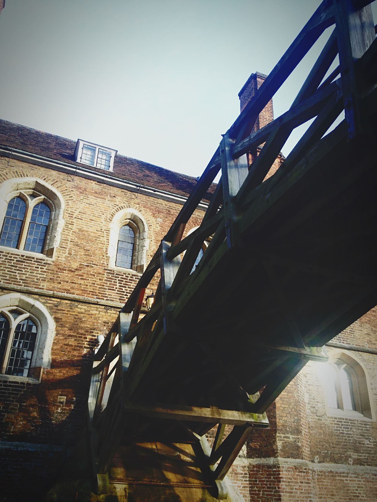 Mathematical Bridge Bridge Cambridge United Kingdom