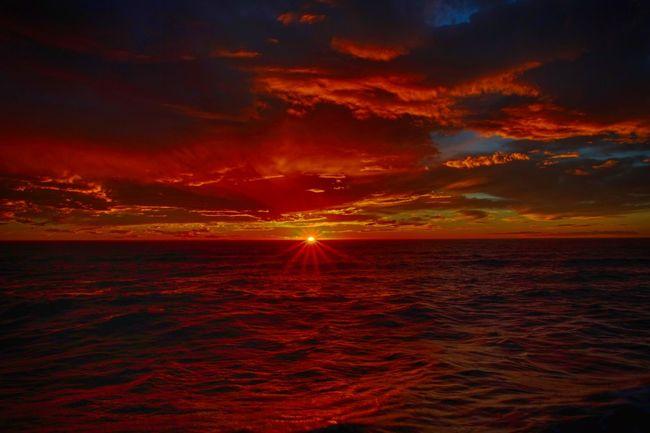 Sunset in New Brighton Enjoying Life