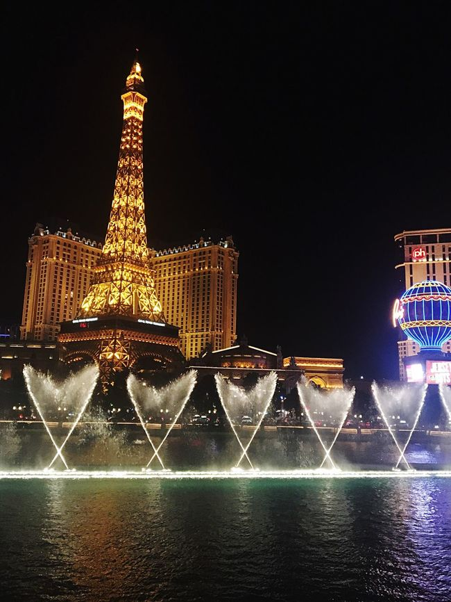 I ❤️❤️❤️ Bellagio Fountains Las Vegas Paris Las Vegas Eiffel Tower Water Fountains