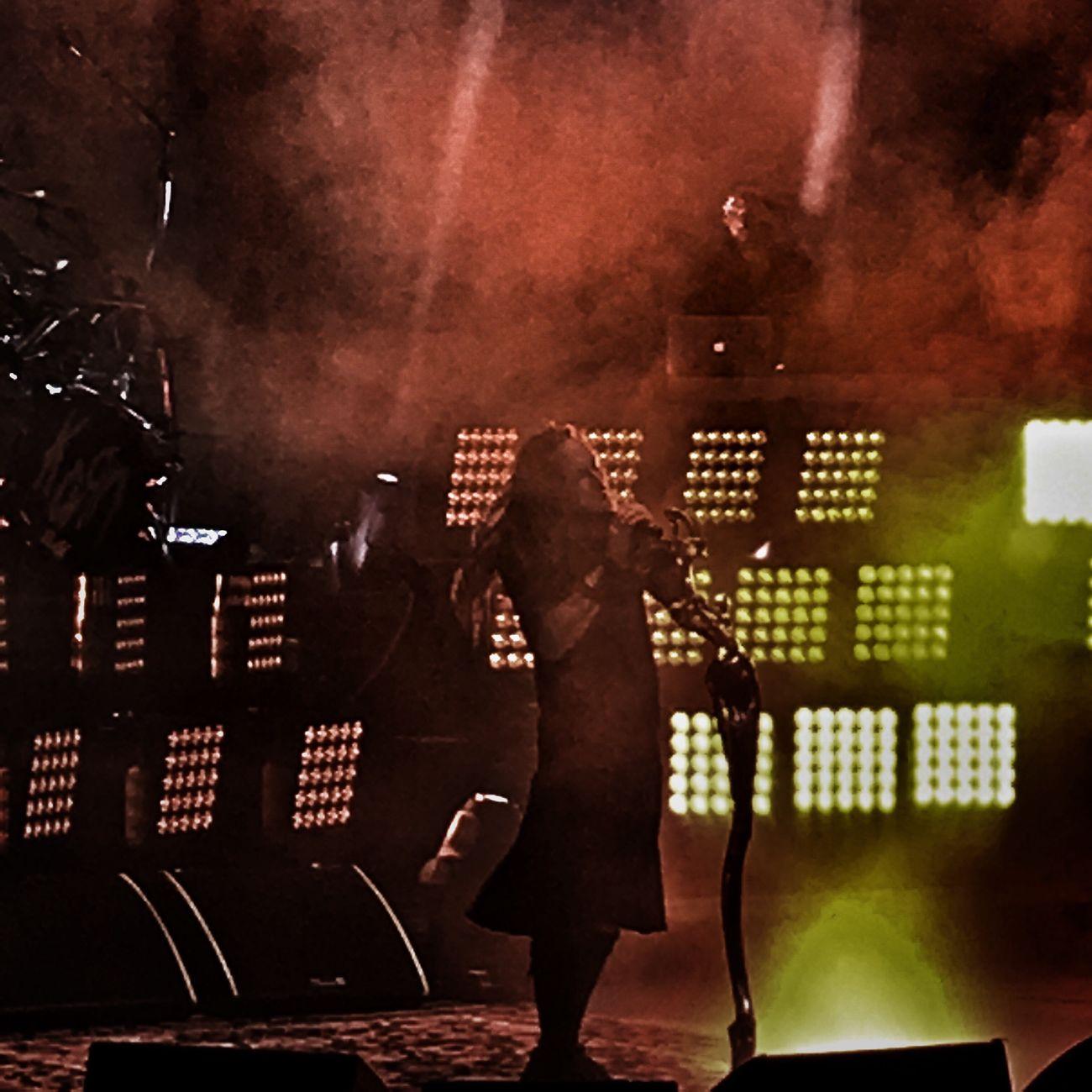 Korn Jonathandavis Jdevil The Bitch  Stage Performance Music Stage - Performance Space Stagephotography Stage Lights Stage Light Stage Photography Performing Concert Oak Mountain Amphitheater Alabama