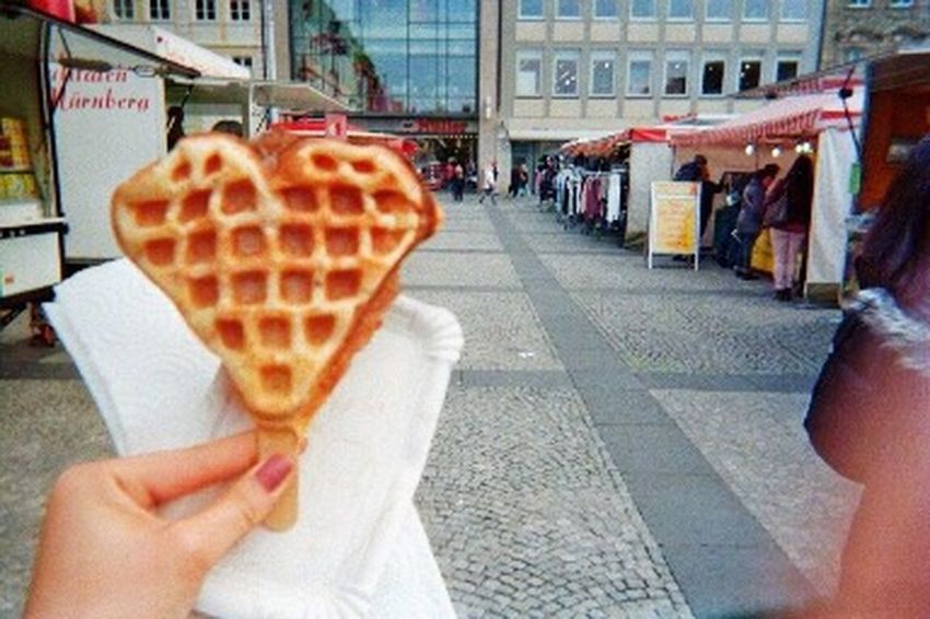Love Waffle Sweet Film Film Photography Filmcamera フィルム