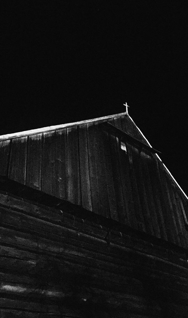 Stajnia Clear Sky Night Low Angle View Built Structure Outdoors Architecture No People Sky Cross