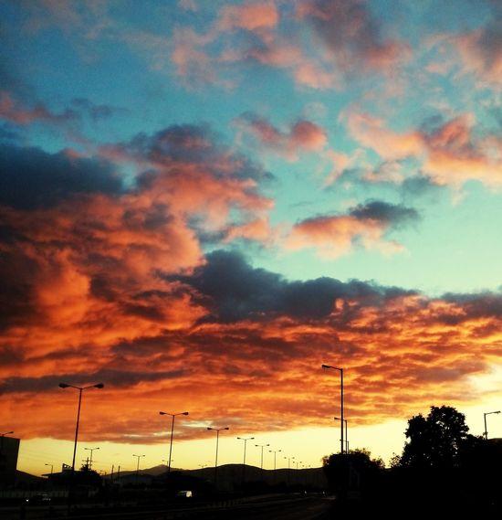 Clouds And Sky Cloudporn Bloodart Sunrise_Collection Greece